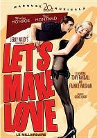 Cover image for Let's make love [videorecording DVD]