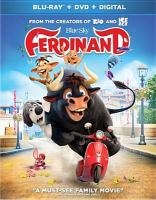 Cover image for Ferdinand [videorecording Blu-ray]