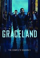 Cover image for Graceland. Season 3, Complete [videorecording DVD]