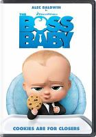 Cover image for The boss baby [videorecording DVD]