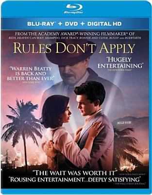 Cover image for Rules don't apply [videorecording Blu-ray]