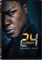 Cover image for 24: legacy. Season 1, Complete [videorecording DVD].