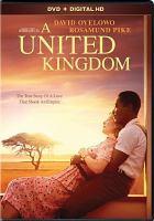 Imagen de portada para A united kingdom [videorecording DVD]