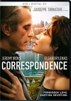 Cover image for Correspondence [videorecording DVD]