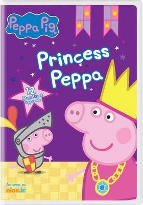 Cover image for Peppa Pig [videorecording DVD] : Princess Peppa