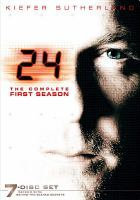 Cover image for 24. Season 1, Complete [videorecording DVD]