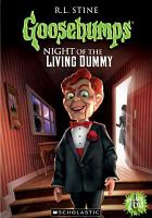 Cover image for Goosebumps. Night of the living dummy