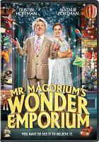 Cover image for Mr. Magorium's Wonder Emporium