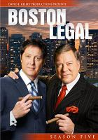 Cover image for Boston legal. Season 5, Disc 4