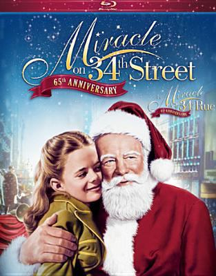 Cover image for Miracle on 34th Street [videorecording Blu-ray] (Maureen O'Hara version)