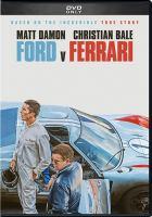 Imagen de portada para Ford v Ferrari [videorecording DVD]