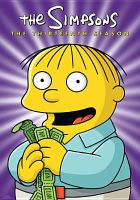 Cover image for The Simpsons. Season 13, Complete [videorecording DVD]
