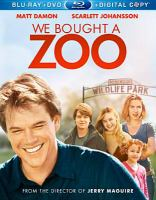 Cover image for We bought a zoo [videorecording Blu-ray]