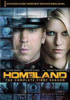 Cover image for Homeland. Season 1, Complete