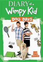 Cover image for Diary of a wimpy kid. Dog days