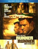 Cover image for Runner runner [videorecording Blu-ray]
