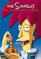 Cover image for The Simpsons. Season 17, Complete [videorecording DVD]