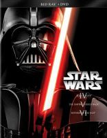 Cover image for Star wars : IV, a new hope [videorecording Blu-ray] ; V, the Empire strikes back ; VI, return of the Jedi