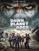 Cover image for Dawn of the planet of the apes [videorecording Blu-ray]