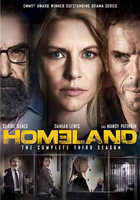 Cover image for Homeland. Season 3, Complete [videorecording DVD]