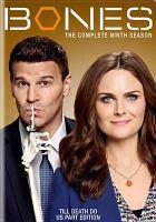 Cover image for Bones. Season 09, Complete [videorecording DVD]