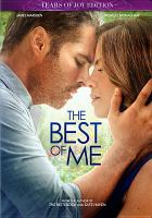 Cover image for The best of me [videorecording DVD]