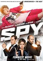 Cover image for Spy [videorecording DVD]