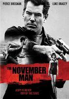 Cover image for The November man [videorecording DVD]
