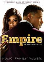 Cover image for Empire. Season 1, Complete [videorecording DVD]