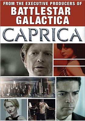 Cover image for Battlestar Galactica. Caprica