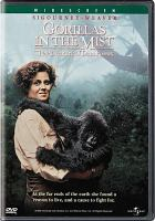 Cover image for Gorillas in the mist the story of Dian Fossey