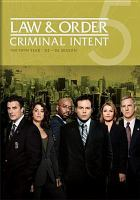 Cover image for Law & order: Criminal intent. Season 05, Complete