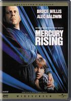 Cover image for Mercury rising [videorecording DVD]