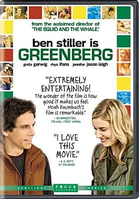 Cover image for Greenberg [videorecording DVD]
