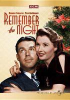 Imagen de portada para Remember the night [videorecording DVD]
