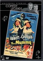 Cover image for Abbott and Costello meet the mummy [videorecording DVD]