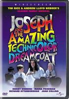 Cover image for Joseph and the amazing Technicolor dreamcoat [videorecording DVD]