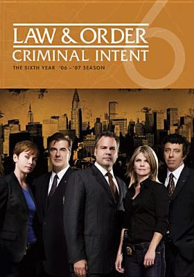 Cover image for Law & order: Criminal intent. Season 06, Complete