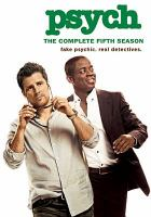 Cover image for Psych. Season 5, Complete [videorecording DVD]