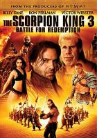 Cover image for The Scorpion King 3 battle for redemption