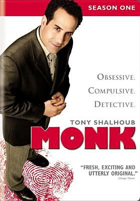 Cover image for Monk. Season 1, Complete [videorecording DVD]