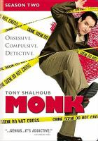 Cover image for Monk. Season 2, Complete [videorecording DVD]