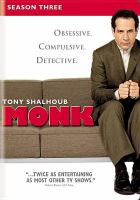 Cover image for Monk. Season 3, Complete [videorecording DVD]