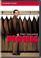 Cover image for Monk. Season 4, Complete [videorecording DVD]