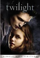 Cover image for Twilight [videorecording DVD]