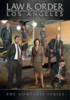 Cover image for Law & order. Los Angeles Complete series