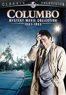 Cover image for Columbo : mystery movie collection, 1991-1993 [videorecording DVD].
