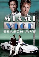 Imagen de portada para Miami vice. Season 5, Complete
