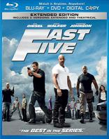 Cover image for Fast five [videorecording Blu-ray]