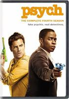 Cover image for Psych. Season 4, Complete [videorecording DVD]